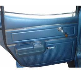 PUI 1969 Chevrolet Chevelle Rear Door Panels, Sedan/Wagon 69AD4DS
