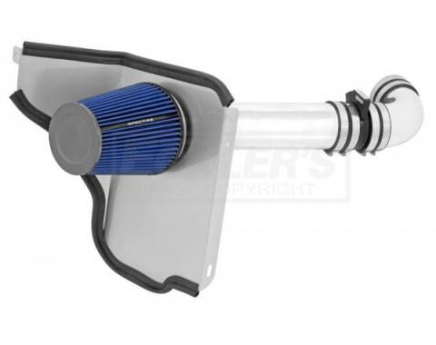 El Camino Air Intake Kit, 4 Inch, Single Inlet, LSX, Passenger Side, With In-Boot MAF, 1966-1967