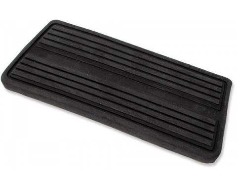 Chevelle Brake Pedal Pad, For Cars With Automatic Transmission & Drum Brakes, 1964-1972
