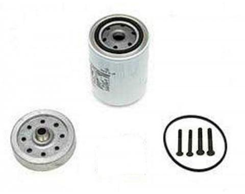 Chevelle Oil Filter Adapter Kit, Spin-On, 1964-1967