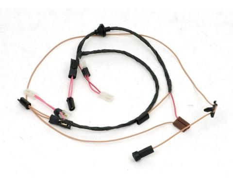 Chevelle Cowl Induction Hood Wiring Harness, 1970-1972