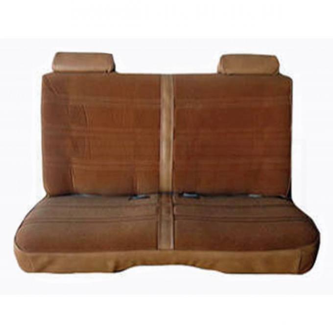 Malibu Seat Covers, Front And Rear Bench Seat, 4 Door Sedan, GM Vinyl, 1978-1983
