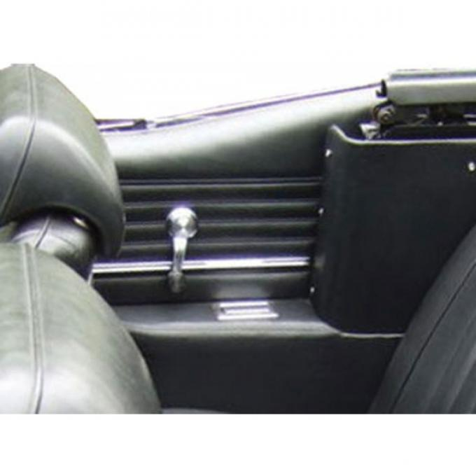 PUI 1968 Chevrolet Chevelle Platinum Edition Preassembled Rear Door Panels, Convertible 68CHPDOV