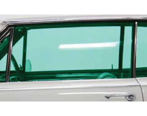 Chevelle Door Glass, 2-Door Coupe, Left Hand, 1964