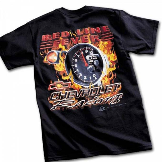 Chevrolet T-Shirt, Red Line Fever