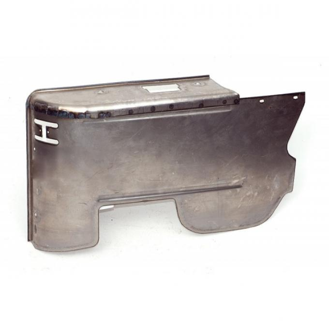 Chevelle Armrest Panel, Lower, Right, Rear, Convertible, 1970-1972