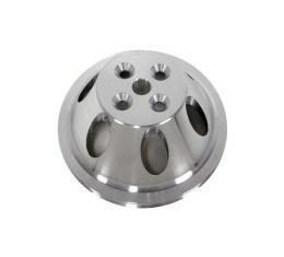 Chevy Big Block Aluminum Water Pump Pulley, Small Water Pump, 1 Groove