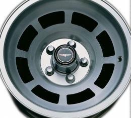 Wheel Cap Set, Chrome, For Corvette-Style Wheels