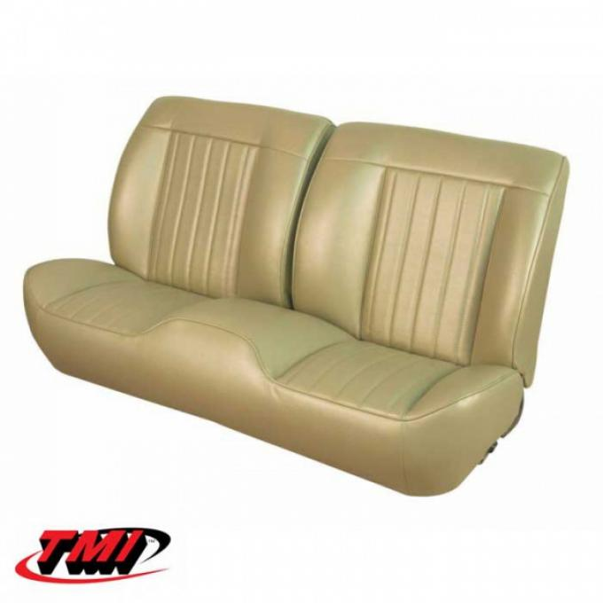 Chevelle TMI Sport Bench Seat Cover & Foam Set, Coupe Or Convertible, 1968
