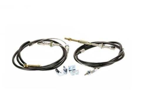 Camaro Emergency Brake Cable Kit For Disc Brake Conversion, 1967-1975