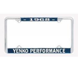 Chevelle Yenko Performace License Frame, 1968