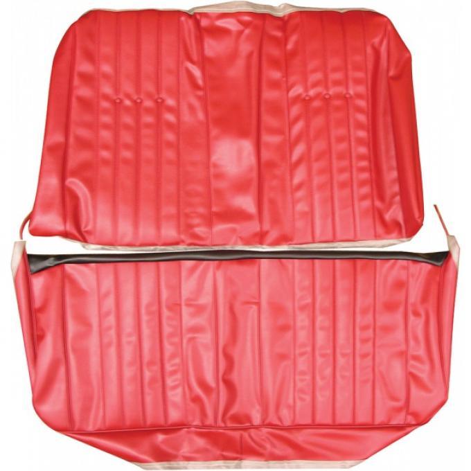 Legendary Auto Industries Chevelle & Malibu Covers, Rear Seat, Convertible, Show Correct, 1968