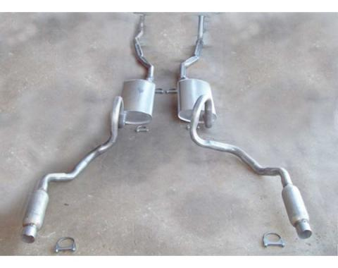 Chevelle - Dual Exhaust System, Big Block With Resonators, Except Station Wagon, 1970-1972
