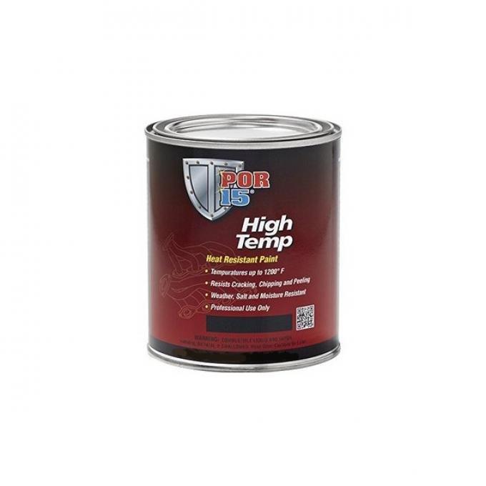 POR-15®  High Temp Paint, Gallon, Assorted Colors