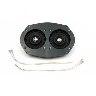 Chevelle Speakers, Dual Front, 50 Watt, For Cars With Factory Mono Radio, 1970-1972