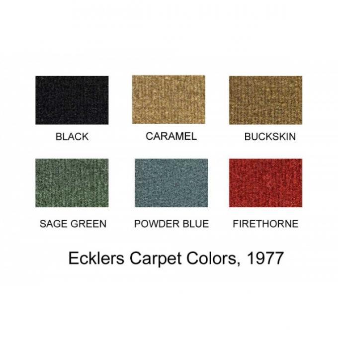 El Camino Floor Carpet, 1977