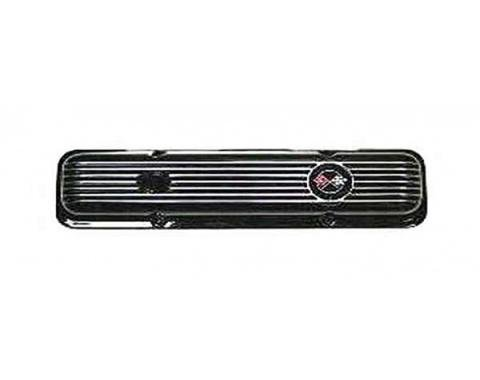 El Camino Valve Cover, Black Aluminum, Right, 1959-1987