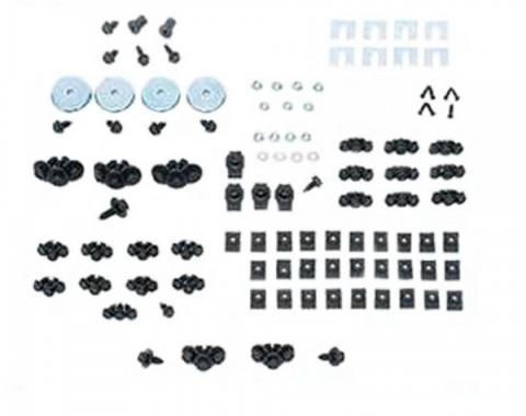 Chevelle - Front End Fastener Kit, Stainless Steel , 1968-1972