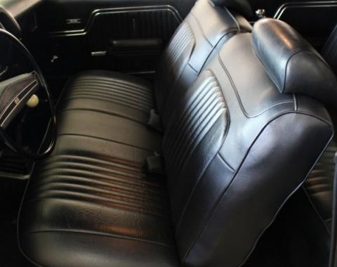 Distinctive Industries 1971-72 Chevelle Coupe with Bench Front & Rear Upholstery Set 090416