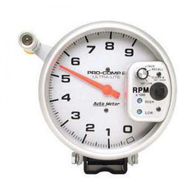 "El Camino Tachometer, Pedestal Mount, 9,000 RPM, 2-1/16"", Ultra-Lite Series, AutoMeter, 1959-1987"
