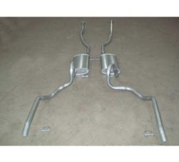 Chevelle - Dual Exhaust System, Smal Block, Except Station Wagon, 1966-1967