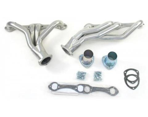 El Camino Exhaust Headers, Shorty Style, Small Block, For Cars With Manual Transmission & Floor Shift, 1964-1977