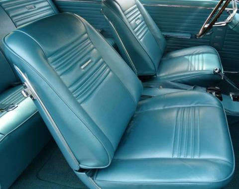Distinctive Industries 1967 Chevelle Coupe with Buckets Front & Rear Upholstery Set 090235