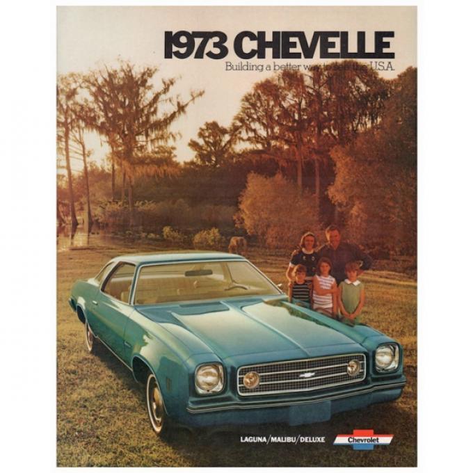 Chevelle Literature, Color Sales Brochure, 1973
