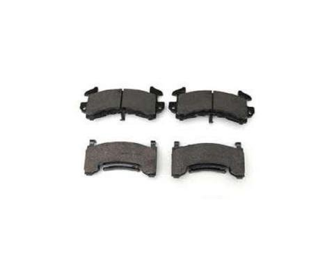 El Camino Front Brake Pads, HPS Compound, 1968-1987