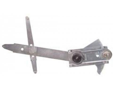 Chevelle Manual Door Window Regulator, Left, 1964-1967