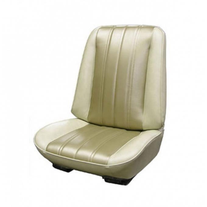 Legendary Auto Interiors Chevelle & Malibu Covers, Front Seats, Buckets, Show Correct, 1966