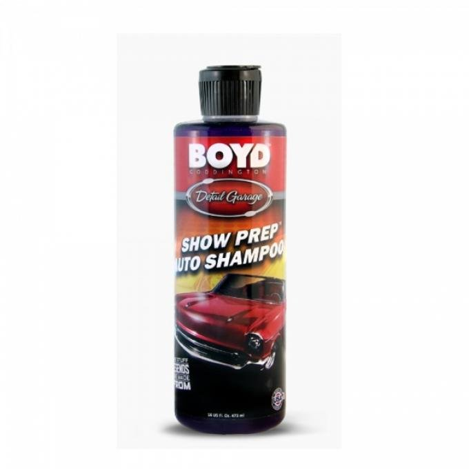 Boyd Coddington Show Prep Auto Shampoo, 16 Ounces
