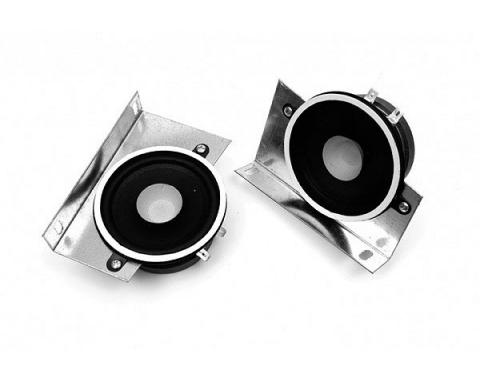 El Camino Speakers, Dual Front Speakers, Screw In Style, 1970-1987