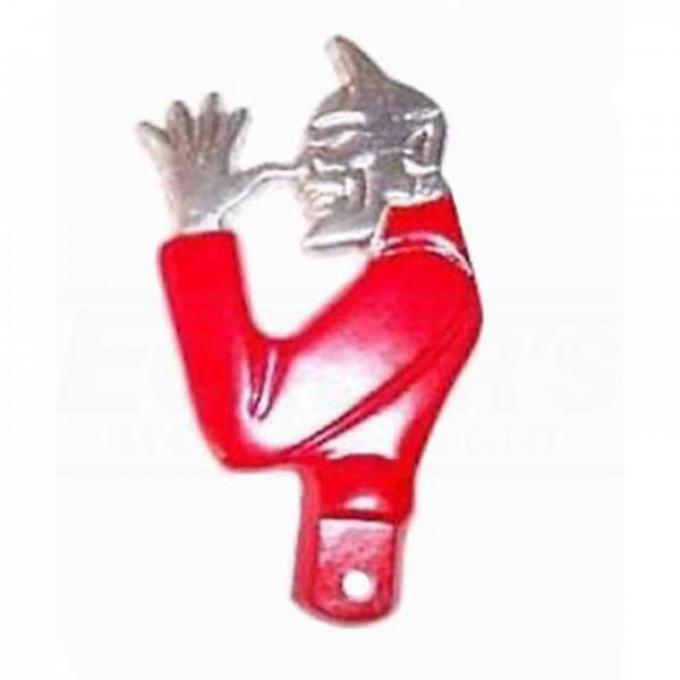 Snotty Devil Ornament License Tab
