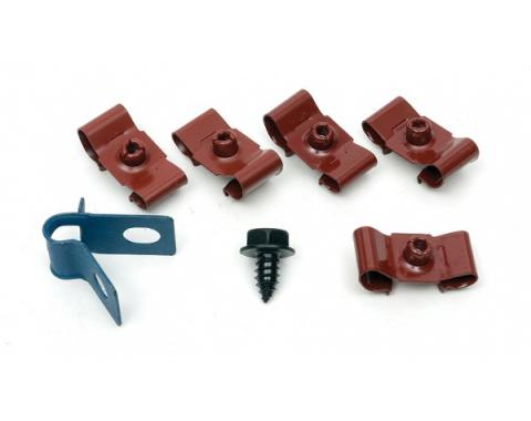 Chevelle Fuel Line Retaining Clips, Single, 5/16, For Cars Without Return Line, 1964-1967