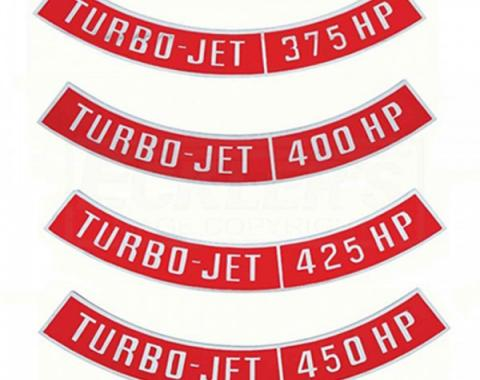 El Camino Air Cleaner Emblem, Turbo Jet, 1959-1987