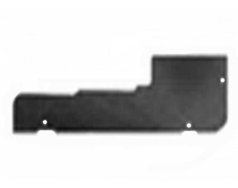 Chevelle And Malibu Convertible Piston Cover Upper Filler Panel, Steel, 1968-1972