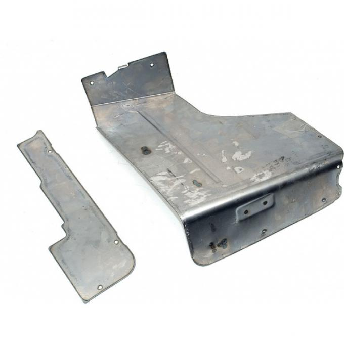 Chevelle Armrest Panel, Upper, Right, Rear, Convertible, For Cars With Power Top, 1968-1972