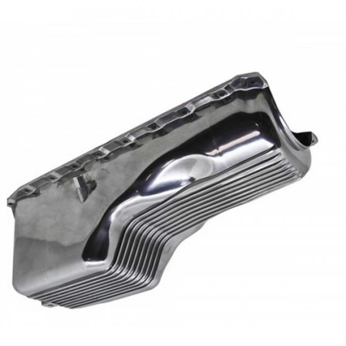 Late Great Chevy - Oil Pan, Big Block, Polished Finned Aluminum