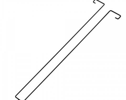 Chevelle Torsion Rods, Trunk Hinge, Convertible, 1968-1972