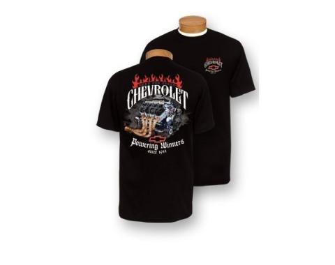 Chevy T-Shirt, Powering Winners