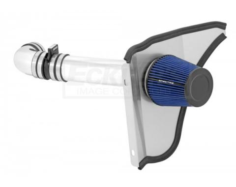 El Camino Air Intake Kit, 4 Inch, Single Inlet, LSX, DriverSide, With In-Boot MAF, 1964-1965