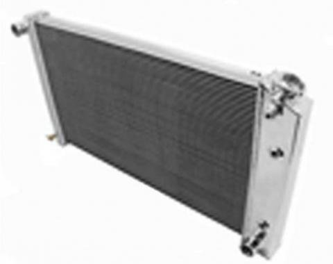 El Camino Champion Aluminum Radiator, Three Row, 1964-1968