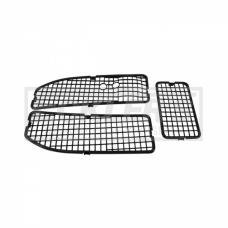 Chevelle Cowl Vent Grilles, For Cars With Air Conditioning,1968-1972