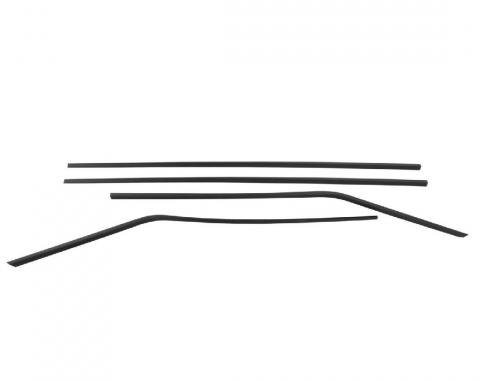 Trim Parts 64-65 Chevelle Window Trim, 2-Door Station Wagon, 4 pieces 4336