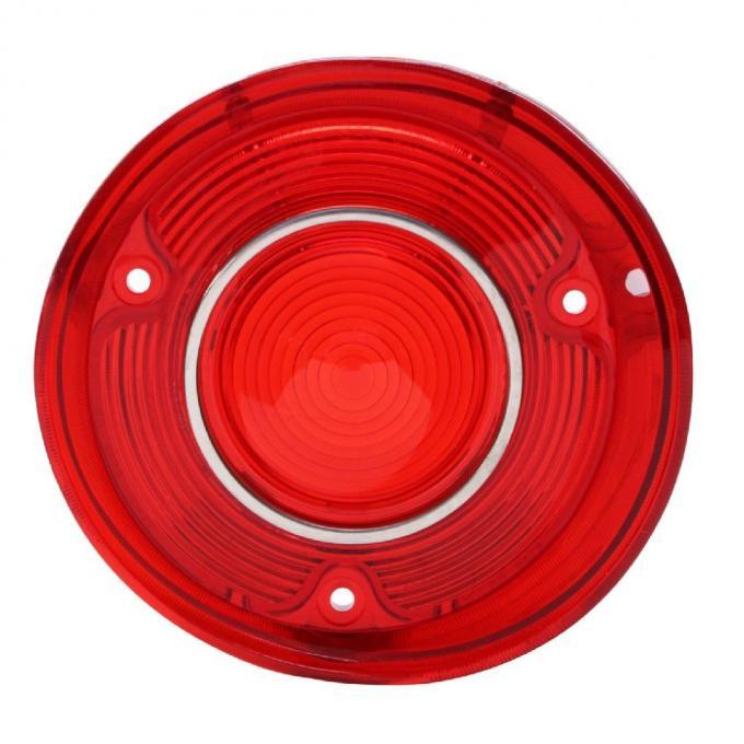 "Trim Parts 72 Malibu & ""SS"" Passenger Side Tail Light Lens with Trim, Each A4407"