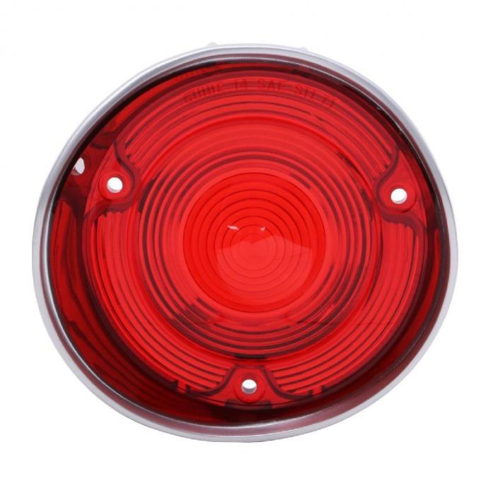 "Trim Parts 71 Malibu & ""SS"" Driver Side Tail Light Lens without Trim, Each A4400"