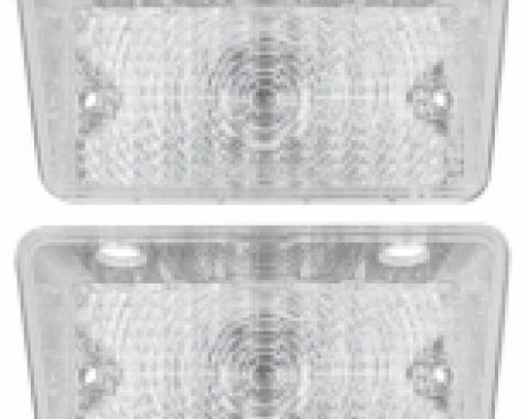 Chevelle Front Turn Signal & Parking Light Lens Set, Super Sport, 1970