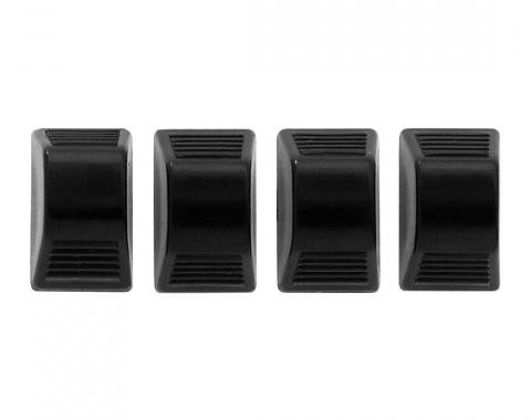 Trim Parts Black Heater Control Knobs, 4 pieces 9579A