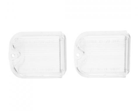Trim Parts 66 Chevelle Back Up Light Lens, Pair A4321